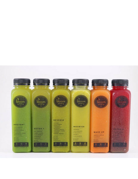 Cold-Pressed Vegetable and Fruit Juices