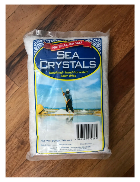 Sea Crystals Natural Sea Salt