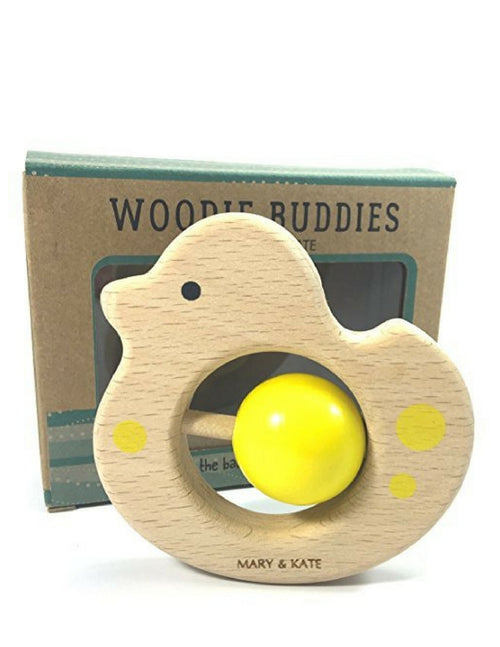 Debbie the Duck Teething Rattle (Montessori Toys)
