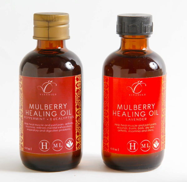 Mulberry Healing Oil (Peppermint Eucalyptus)