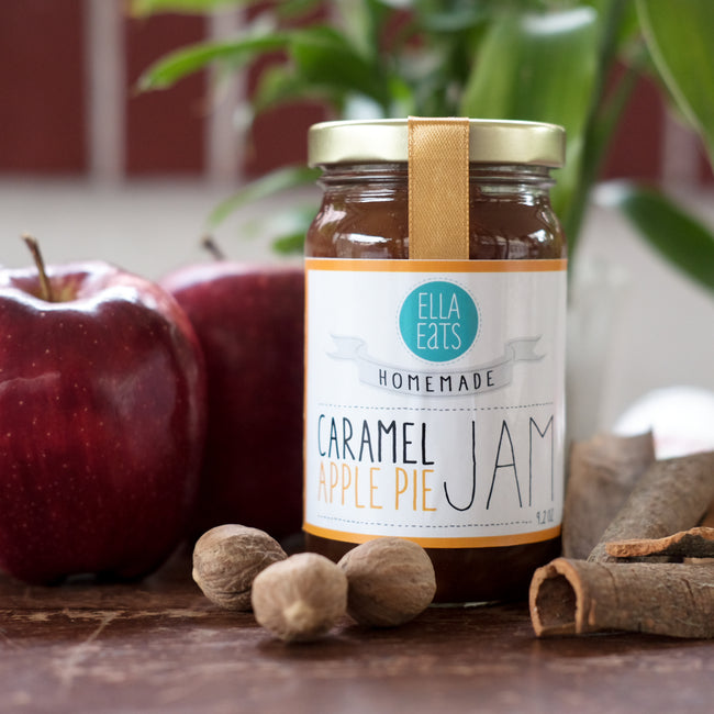 Caramel Apple Pie Jam