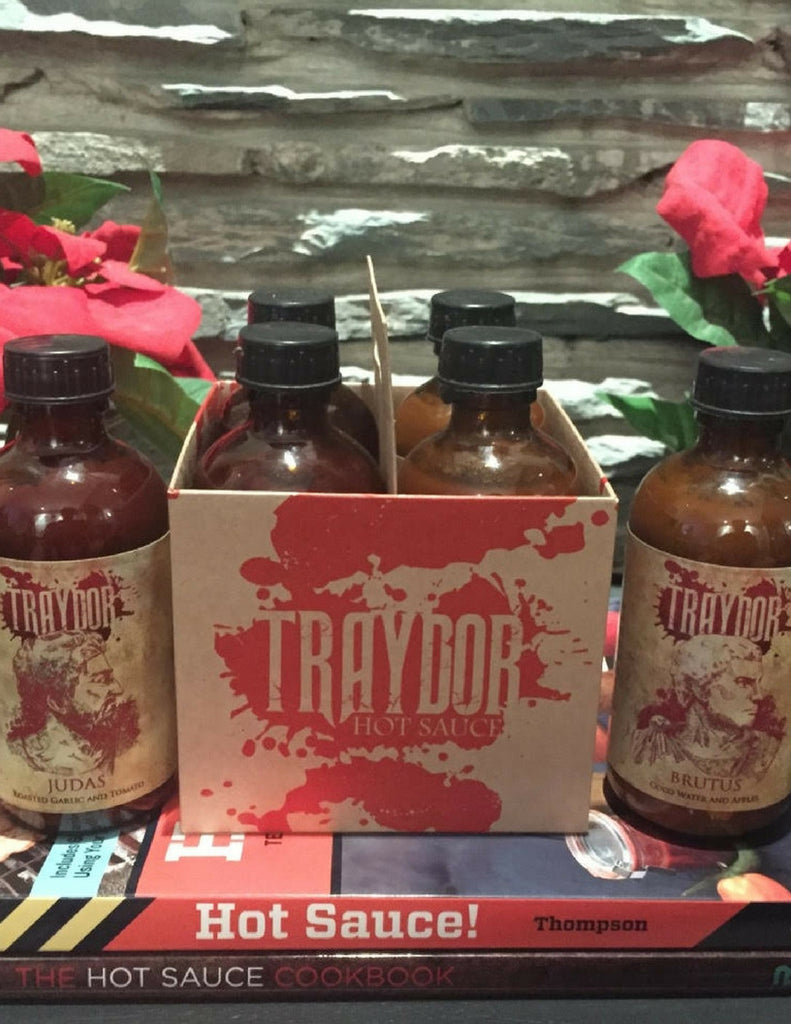 Traydor x 4 Hot Sauce Four-Pack