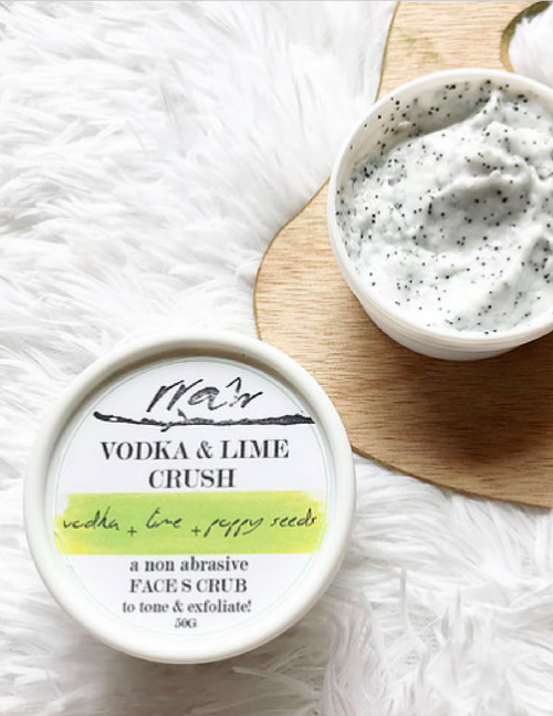 Vodka & Lime Crush Face Scrub