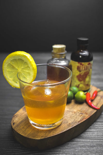 Damaso Mango Rhum Hot Sauce