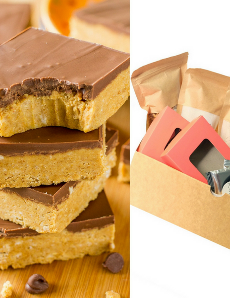 Chocolate Peanut Butter Bars Baking Kit