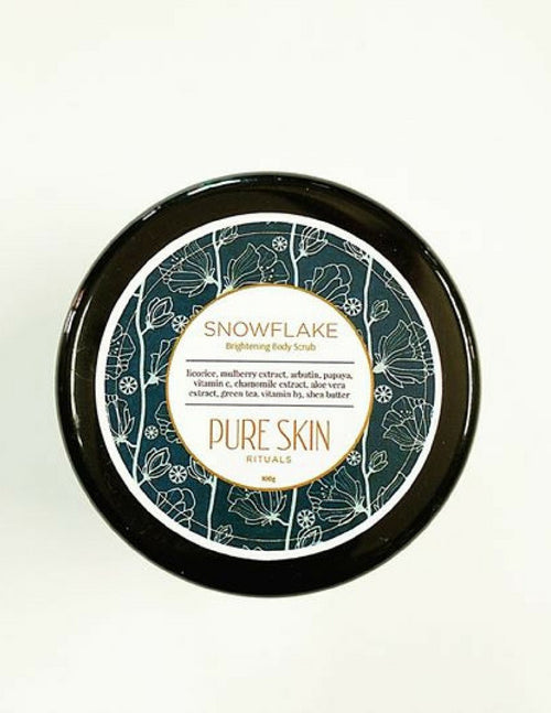 Snowflake Brightening Body Scrub