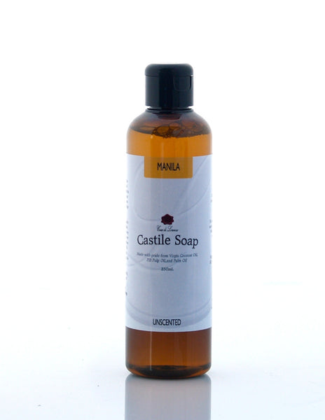 Manila Castile Soap (Unscented)