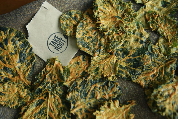 Sour Kream & Chive Kale Chips