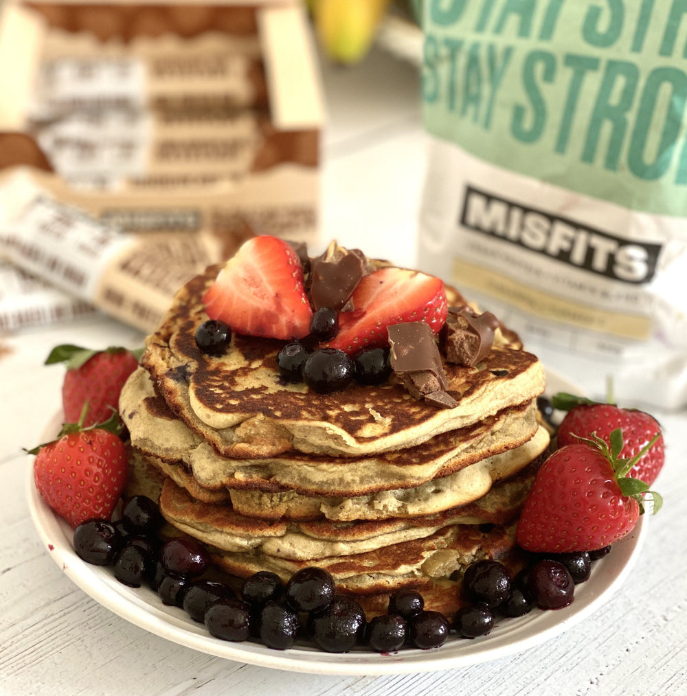 The Best Vegan Protein Pancakes!