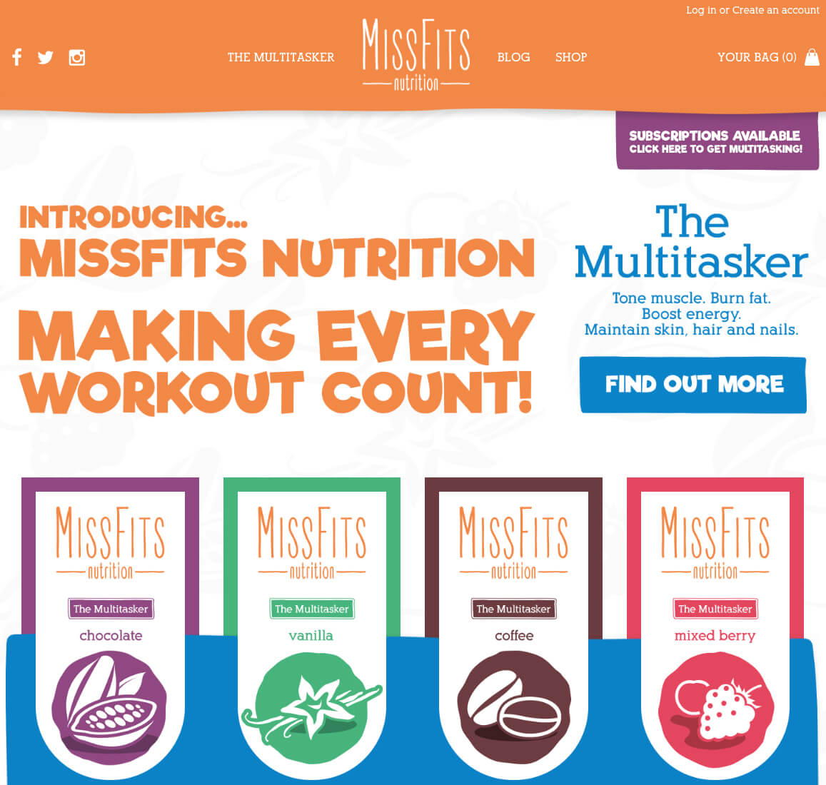 Image result for misfits nutrition