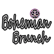 bohemian brunch logo