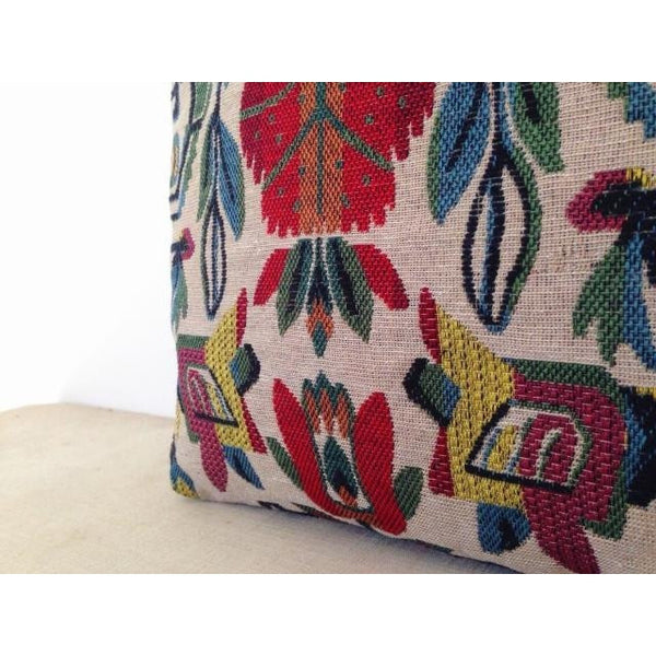 Vintage Retro Chic Boho Canvas Shopping Handbags-Bohemian Brunch
