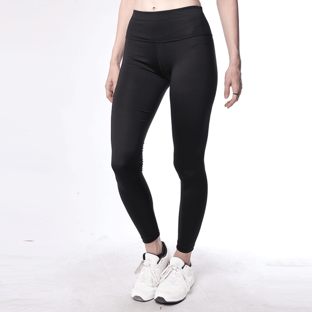 Black High Waisted Women Premium Leggings - TeeFit Fashion