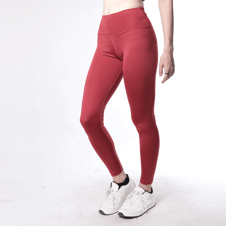 Pink High Waisted Women Premium Leggings - TeeFit Fashion
