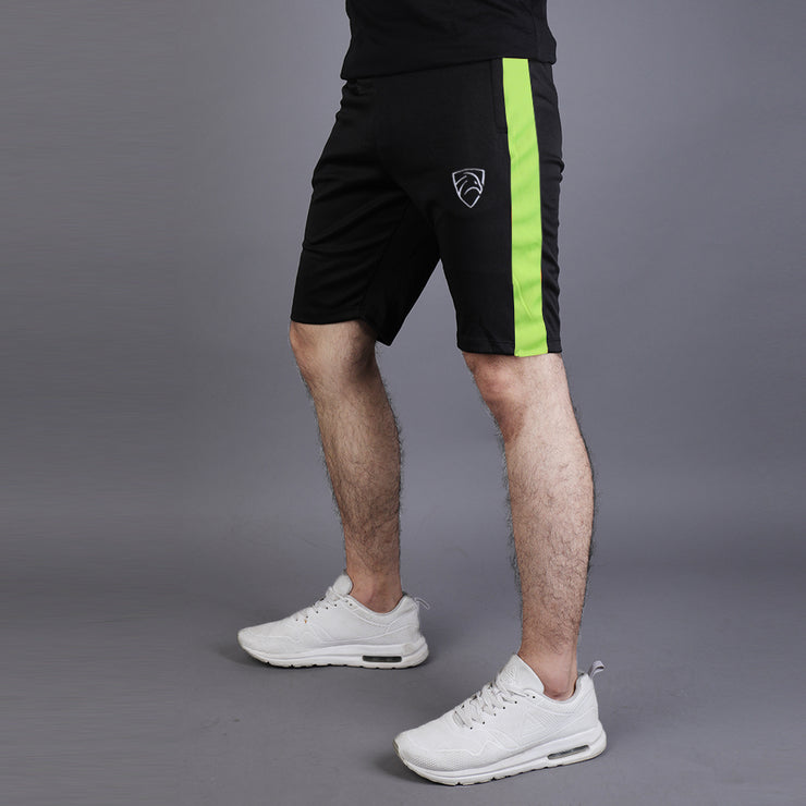 Black Hawk Series SHORTS With NEON Panel