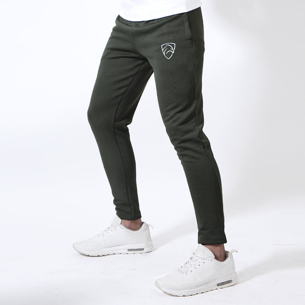 Tf-Olive Green Interlock Bottoms
