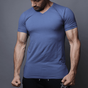 Teal Blue Half Sleeve Tee - TeeFit Fashion