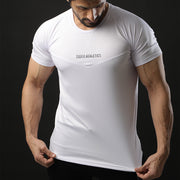 White Teefit Athletics Performance Tee