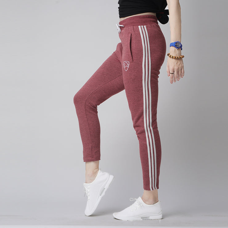 Tf-Three Stripes Pink Women Bottoms