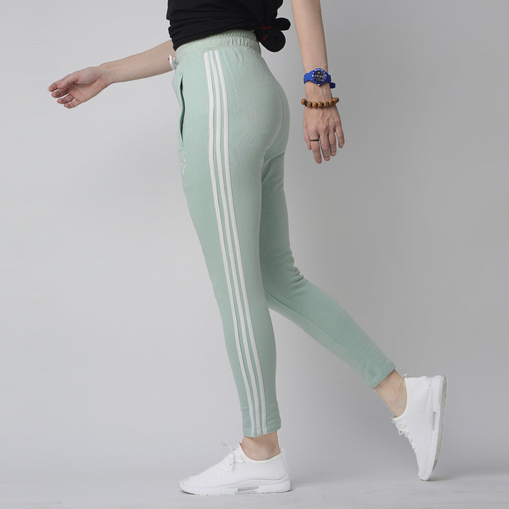 Tf-Three Stripes Sea Green Women Bottoms
