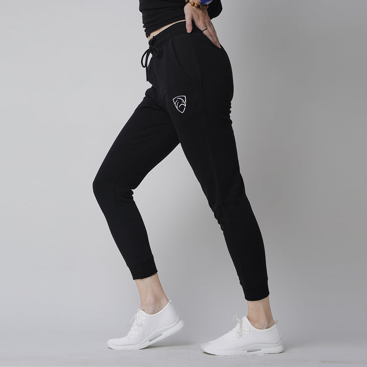 Tf-Tapered Black Women Bottoms