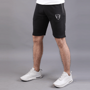 Tf-Black Shorts With Water-Base Zips - TeeFit Fashion