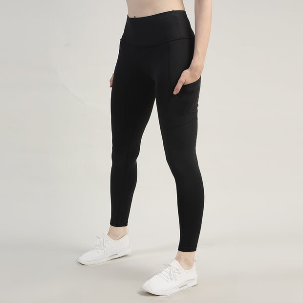 Black High Waisted Premium Pocket Leggings