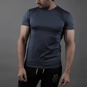 Quick Dry Prussian Blue Tee - TeeFit Fashion