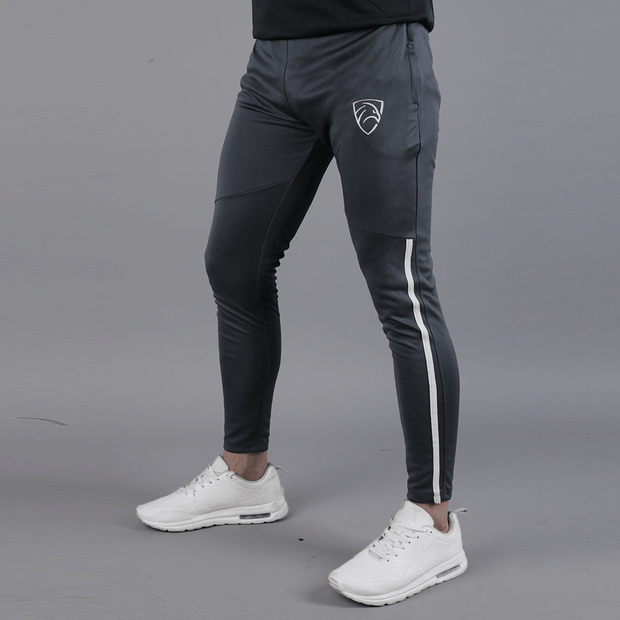 Grey Hawk Series Bottoms With Knee Front Piping - TeeFit Fashion