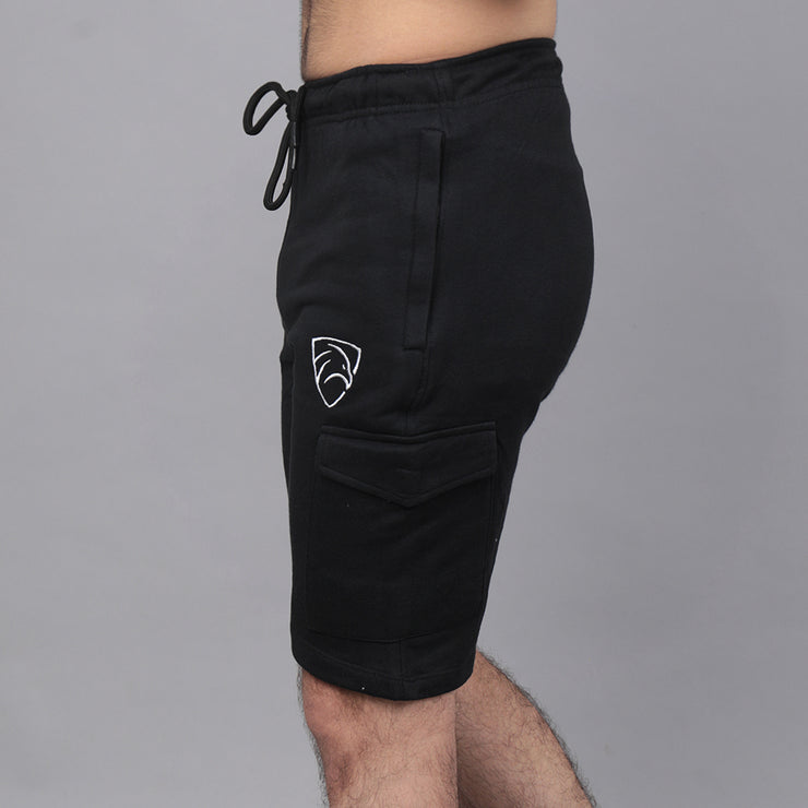 Tf-Black Cargo Shorts