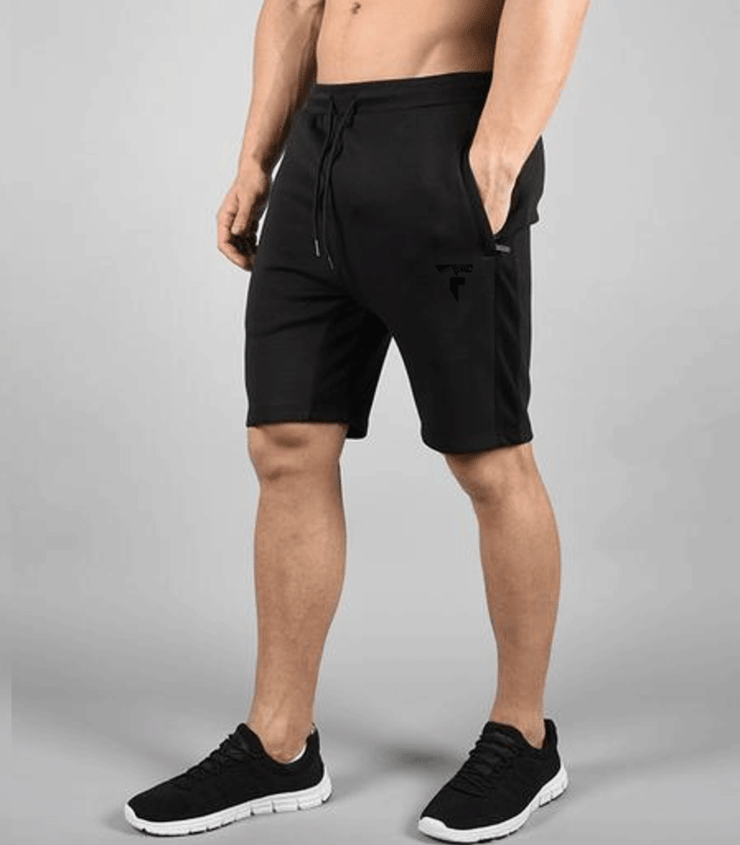 Black Hybrid Shorts - TeeFit Fashion
