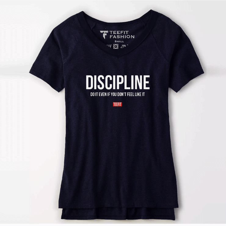 Discipline Women Tee - TeeFit Fashion