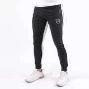 Tf-Distorted Bottoms With White Panels And Metal Zips - TeeFit Fashion