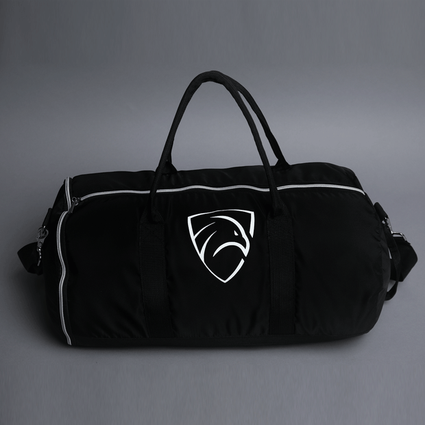 Teefit Black Premium Gym Duffel Bag - TeeFit Fashion