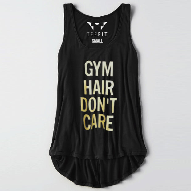 Gym Hair Don't Care Women Tank