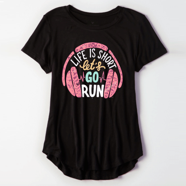 Life Is Short Women Tee - TeeFit Fashion