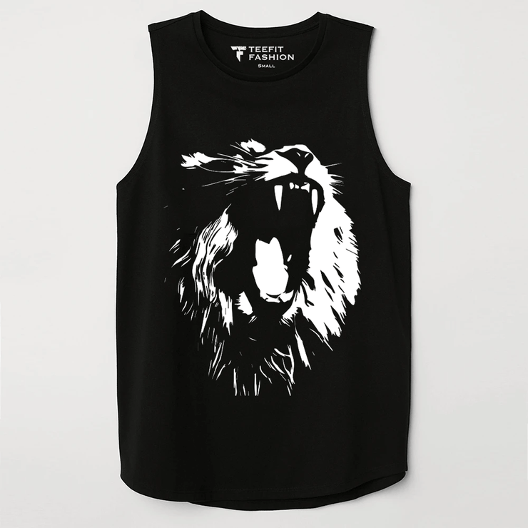 Lion Sleeveless Top - TeeFit Fashion