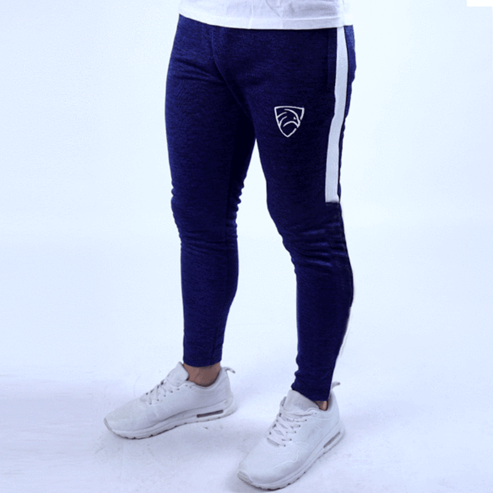Quick Dry Navy Textured Squad Bottoms