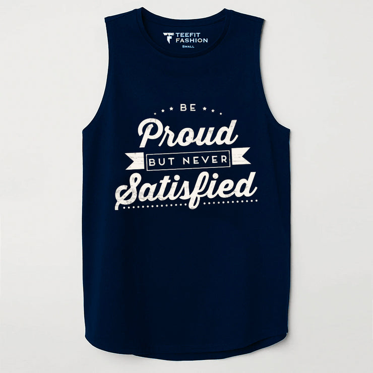 Proud But Never Satisfied Sleeveless Top