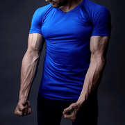 Tf-Blue Compression Tee