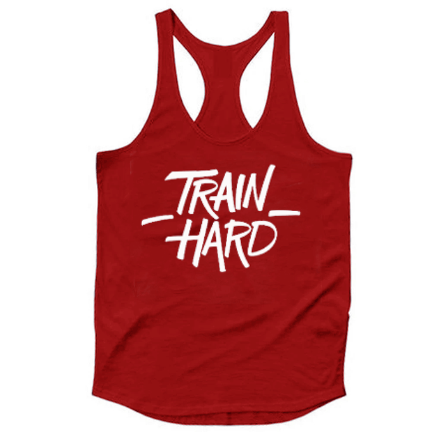 Train Hard Tank Top - TeeFit Fashion