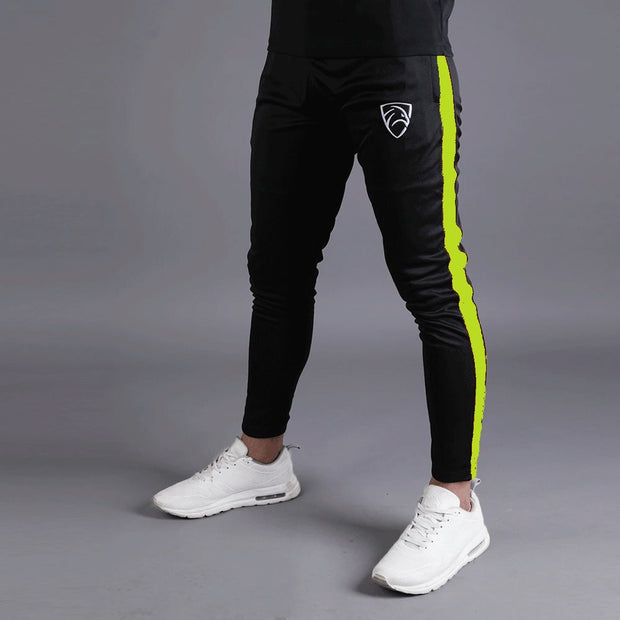 Quick Dry Black Hawk Series Bottoms With NEON Side Panel