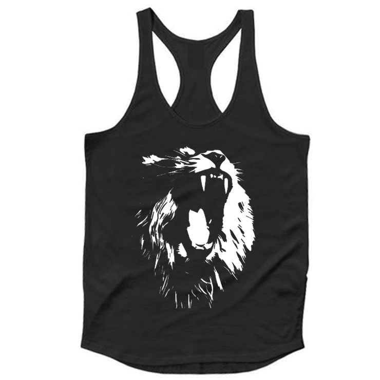 Lion Tank Top - TeeFit Fashion