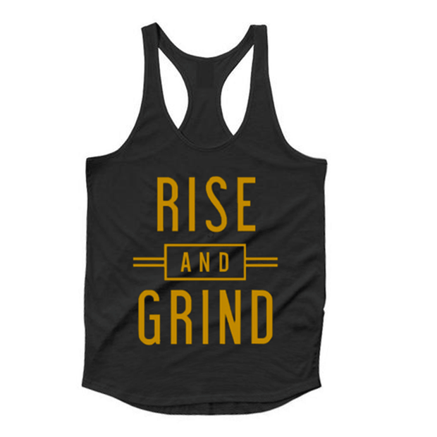 Rise & Grind Tank Top - TeeFit Fashion