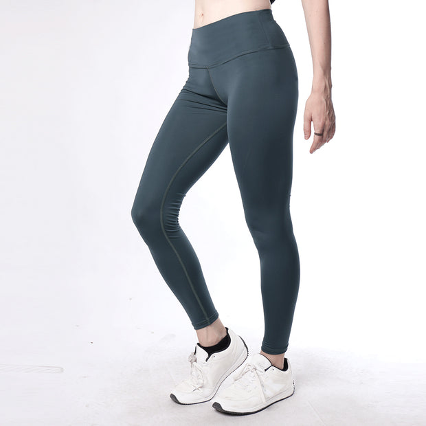 Teal High Waisted Women Premium Leggings