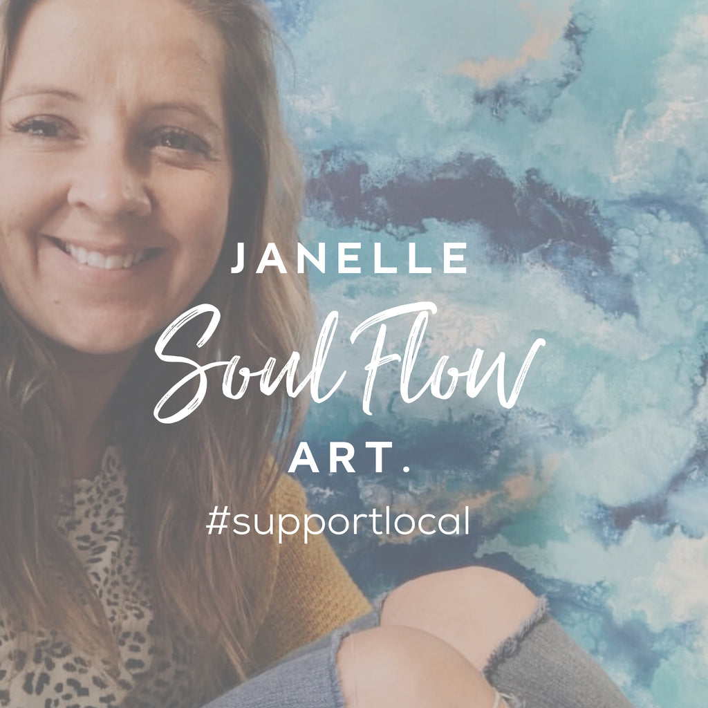 Janelle - The Creative Mind Behind the Brush at Soul Flow Art