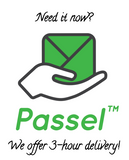 Passel 3 Hour Delivery Logo