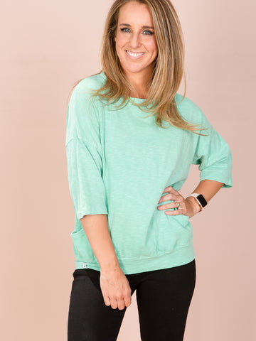 Mazie Sweat - Mint