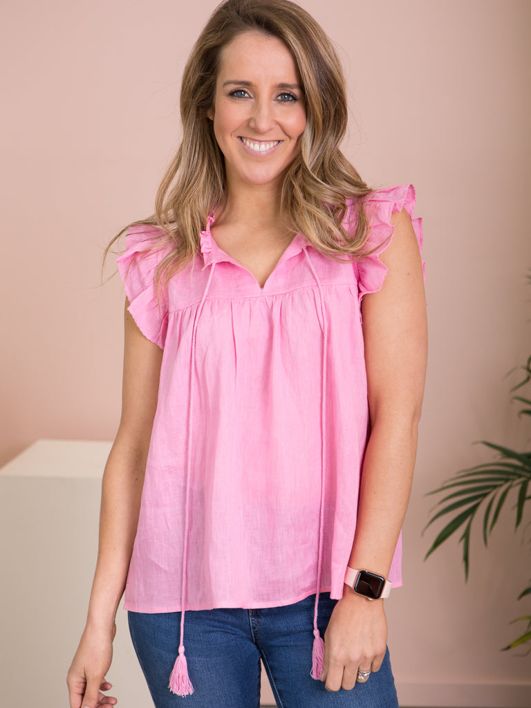 Phoenix Frilled Top