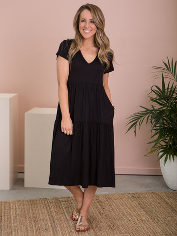 Sorella Dress Black